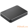 "Toshiba 1TB 2,5"" CANVIO PREMIUM MAC USB3.0 Aluminium/Metal Black"