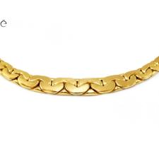 Kobra arany nyakék nyaklánc
