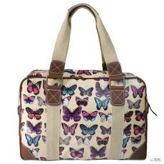 Miss Lulu London L1106B - Miss Lulu Oilcloth utazó táska pillangó