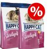 Happy Cat Supreme Happy Cat dupla csomag - Adult lazac (2 x 10kg)