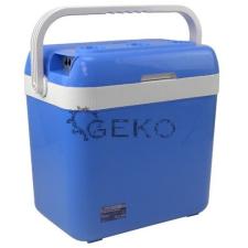GEKO 12V - 230V Elektromos Hűtőtáska 32L (Fűtő funkcióval) kemping felszerelés