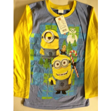 Minions hosszúujjú póló - kék-sárga