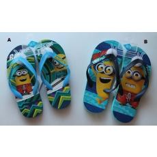 Minions flip-flop papucs - kék - NAGY MÉRET