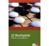 22 Brettspiele Deutsch nyelvkönyv, szótár