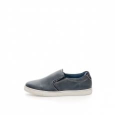 Zee Lane sötétkék férfi slip-on cipő, bőr, 44 EU (51260-LEATHER-BLUE-ZNE-44)