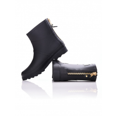 Dorko BLACK COLOR ANKLE BOOT WITH ZIPPER GUMICSIZMA