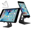Univerzális Aluminium Állvány - Konzol - Tartó / Tablet és Telefon Fekete