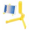 Összecsukható Tablet Állvány Tartó - Hordozható Állítható Magasság Sárga