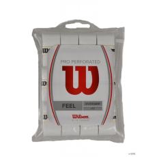 Wilson Unisex Grip PRO OVERGRIP PERF 12PK WH