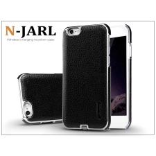 Apple iPhone 6 Plus/6S Plus hátlap beépített Qi adapterrel, vezeték nélküli töltő állomáshoz - Nillkin N-Jarl Magic Case - fekete tok és táska
