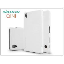 Sony Xperia X Performance (F8132) oldalra nyíló flipes tok - Nillkin Qin - fehér tok és táska
