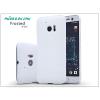Nillkin HTC 10 hátlap képernyővédő fóliával - Nillkin Frosted Shield - fehér