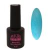 Master Nails MN 6ml Gel polish/027 Metál Kék   gél lakk 6 ml-es kiszerelésben
