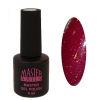 Master Nails MN 6ml Gel polish/118 Csillámos Bordó gél lakk 6 ml-es kiszerelésben