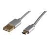 Profi USB-micro USB telefon töltőkábel USBP A/MICRO-1