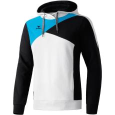 Erima Hoodie fehér/fekete/világos kék pulóver