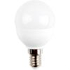 6W E14 LED kisgömb égõ meleg fehér