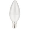 6W E14 LED gyertya égõ hideg fehér