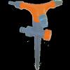 MUTA Öntözőfej leszúrótüskével, 3 karú, kétutas (13433)