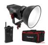 Aputure Videó lámpa Kit, LED Light Storm COB 120t, A-mount, táskával vaku