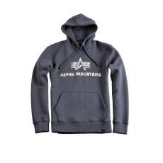 Alpha Industries Logo Vintage Hoody - greyblack