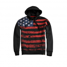Alpha Industries Flag Hoody - fekete