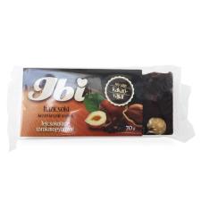 Ibi házicsoki mogyorós tejcsokoládé 70g csokoládé és édesség