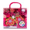 Bead Bazaar Bead Bazaar, Virágos gyöngy csokor - Pink