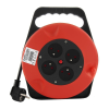 Qoltec Cable reel   4 power socket   10,0m