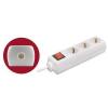 Home szerelhető földelt elosztó kapcsolóval (NV 03K)