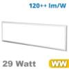 LED panel (1200 x 300 mm) 29 Watt - meleg fehér (3600 lm)