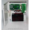Makrai kapcsoló üzemű CCTV kamera tápegység, szünetmentes üzemmód, 6A, 10 kimenet, akkumulátorhely (12V/7Ah)