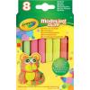 Crayola gyurma 8 db, neon színek