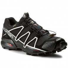 Salomon Bakancs SALOMON - Speedcross 4 Gtx 383181 26 G0 Black/Black/Silver Metallic-X