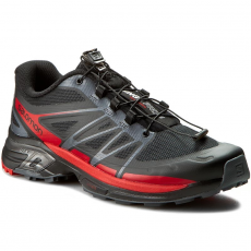 Salomon Bakancs SALOMON - Wings Pro 2 379083 26 W0 Black/Dark Cloud/Radiant Red