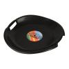 Tornádo szánkó tányér fekete