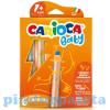 Carioca 3 az 1-ben bébi zsírkréta 6db-os készlet