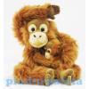 Plüss Orángután majom kicsinyével 25,5cm
