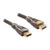 DELOCK Displayport M/M video jelkábel 2m Premium