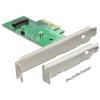 DELOCK PCI-E x4 M.2 NGFF IO vezérlő