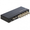 DELOCK 4 portos 3G-SDI switch