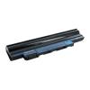 Whitenergy Aspire One D260, D255 11.1V Li-Ion 4400mAh notebook akkumulátor fekete