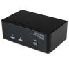 Startech Dual DVI 2 portos USB2.0 KVM switch