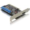 DELOCK PCI - 3 portos IDE SATA eSATA RAID vezérlő