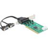 DELOCK PCI 2 portos soros port IO vezérlő