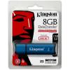 Kingston 8GB DataTraveler Vault Privacy 3.0 (Management Ready) vízálló USB3.0 pendrive kék