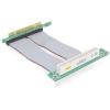 DELOCK PCI Riser card (90°bal, 13sm-es kábellel)