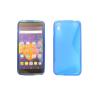 CELLECT Alcatel Idol 3 4.7'' szilikon hátlap,S minta,Kék