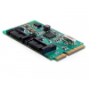 DELOCK mini PCI-E x1 - 2 portos SATA3 adapter