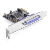 DELOCK PCI-E x1 - 2+1 soros port párhuzamos port multi IO vezérlő